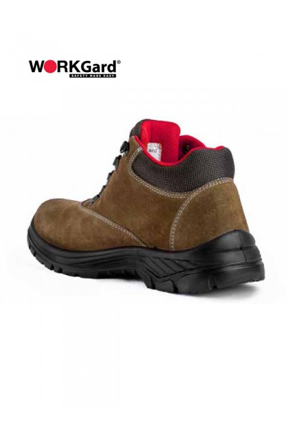 WORKGard OMEGA MID CUT LACE UP SHOES (WGS8011)