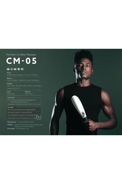 HOMELEC BODY ELEMENTS CORDLESS MASSAGER (CM-05 WHITE/BLACK)AND(CM-07 WHITE/BLACK)