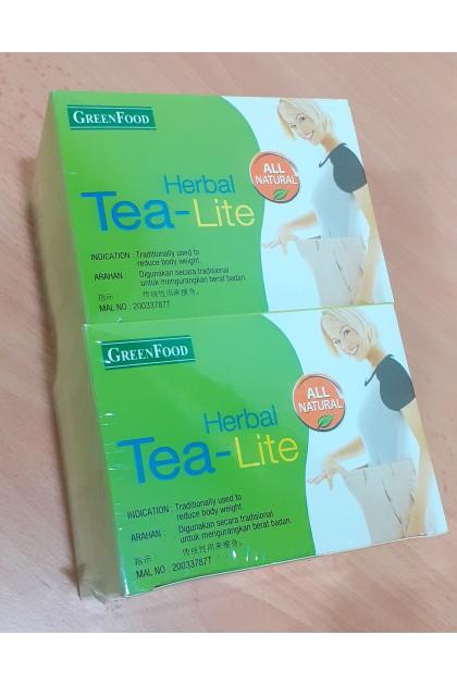 Greenfood Diet Tea-lite twinpack