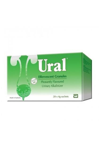 Ural sac 28s Effervercent Granules