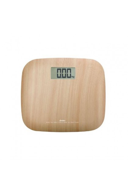 DRETEC BS-171NW BODY SCALE (NATURAL WOOD)