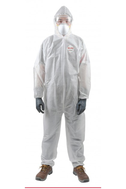 WORKSafe® MICROVEK POLYPROPYLENE (PP) DISPOSABLE COVERALL