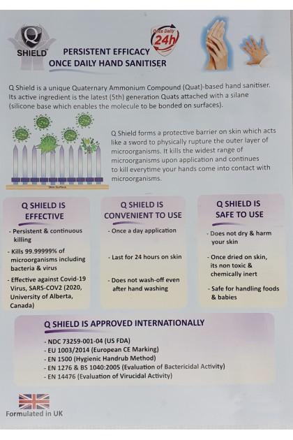 Shield hand sanitizer foam 50ml